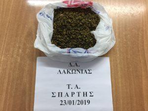 Λακωνία. Σύλληψη 48χρόνου – κατασχέθηκε ποσότητα κάνναβης