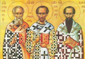 Ποιοι ήταν οι 3 Ιεράρχες που γιορτάζουν σήμερα;