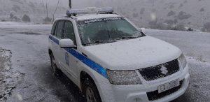 Ενημέρωση για το οδικό δίκτυο Πελοποννήσου από την Γ.Αστυνομική Διεύθυσνη (4-1-2019 08:30)