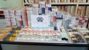 Κορινθία. Κατασχέθηκαν 897 πακέτα λαθραίων τσιγάρων