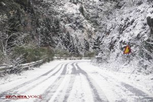Ενημέρωση οδικού δικτύου Πελοποννήσου από την ΓΕ.Α.Π.Δ (8.1.2019 ώρα 08.30 πμ)