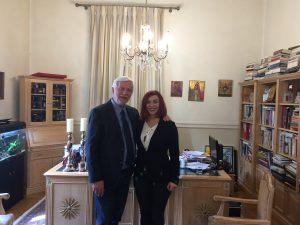 Τη Νίνα Δράκου στο ψηφοδέλτιο της Νέας Πελοποννήσου στη Μεσσηνία ανακοίνωσε ο Π.Τατούλης