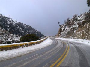 Ενημέρωση οδικού δικτύου Πελοποννήσου από την ΓΕ.Π.Α.Δ 5-1-2019/08:30