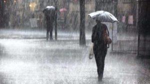 Ισχυρές βροχές & καταιγίδες την Δευτέρα 25-2-2019