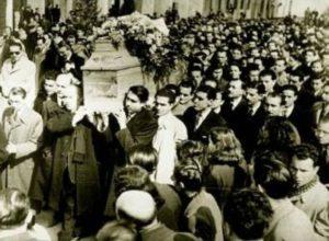 Σαν σήμερα 28 Φεβρουαρίου : Παρακίνηση των Μανιατών για εξέγερση – η κηδεία του Παλαμά