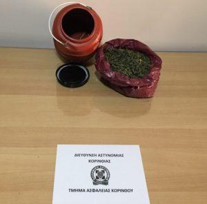 Συνελήφθη 55χρονος για ναρκωτικά στην Κορινθία
