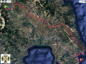 Α΄Λακεδαιμόνιος αγώνας Βυζαντινών Κάστρων Μυστρά-Γεράκι-Μονεμβασία