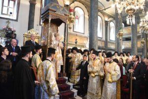 Λαμπρός εορτασμός της Κυριακής της Ορθοδοξίας στο Οικουμενικό Πατριαρχείο