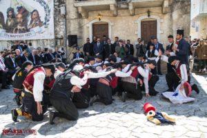 Σείστηκε η Γη με το «Μακεδονία ξακουστή» στην Αρεόπολη