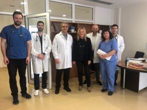 Επίσκεψη της κ. Τζανετέα  στο Γ.Νοσοκομείο Σπάρτης