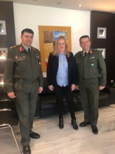 Συνάντηση Αντιπεριφερειάρχη Λακωνίας με το νέο Διοικητή ΚΕΕΜ