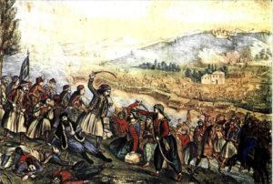 Σαν σήμερα 21 Μαρτίου : Ο Παπαφλέσσας καταλαμβάνει τους λόφους Καλαμάτας προς την Σπάρτη