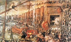 Σαν σήμερα 12 Απριλίου: οι Σταυροφόροι καταλαμβάνουν την Κωνσταντινούπολη
