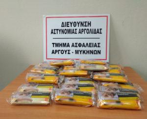 Συλλήψεις για κλοπές & ναρκωτικά στην Π.Πελοποννήσου
