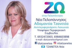"""Πρόγραμμα των μελών του συνδυασμού """"Νέα Πελοπόννησος"""""""