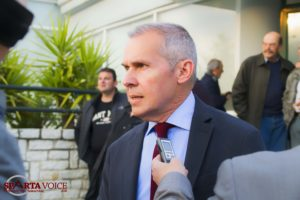 Τηλεδίασκεψη Δαβάκη με τους επαγγελματικούςφορείς της Λακωνίας