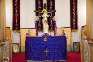 Ο εσπερίνος της Μ. Τρίτης & το Τροπάριο της Κασσιανής στον Ι.Ν Αγίου Βασιλείου Σπάρτης