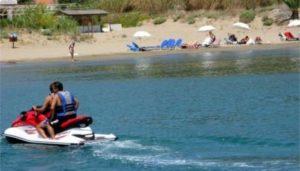 Απαγόρευση θαλασσίων μοτοποδηλάτων από το Λιμεναρχείο Γύθειο