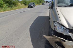 Τροχαίο ατύχημα στην Ε.Ο Σπάρτης – Γυθείου