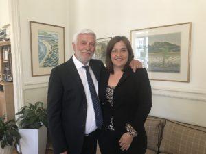 Η Ευγενία Δρίβα Υπ. Περιφερειακή Σύμβουλος Π.Ε Λακωνίας