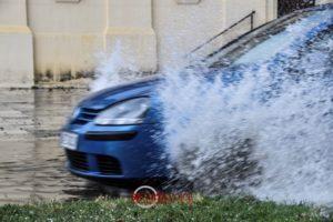 Μέσα σε 5 λεπτά έντονης βροχόπτωσης πλημμύρισε η Σπάρτη