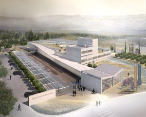 Σχέδιο που δεν κέρδισε το διαγωνισμό για το Ν.Αρχαιολογικό Μουσείο Σπάρτης