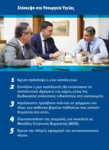 """Κ. Μητσοτάκης """"άμεση πρόσληψη 2000 νοσηλευτών"""""""