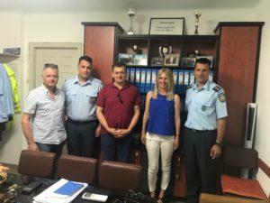 Επίσκεψη στην Ένωση Αστυνομικών Υπαλλήλων Λακωνίας από την Ε. Κοντοσταθάκου
