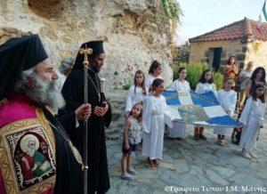 Η Μάνη γιόρτασε την κοίμηση της Θεοτόκου σε 28 Ι. Ναούς