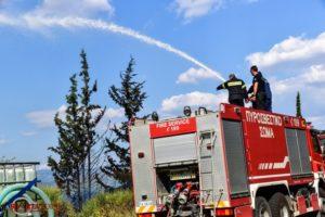 Πολύ υψηλός κίνδυνος πυρκαγιάς για το Σάββατο 24.08.2019