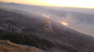 Πυρκαγιά στην Παιανία Αττικής