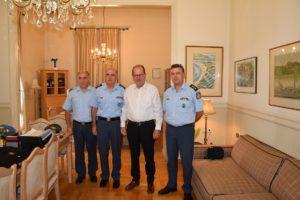 Εθιμοτυπικές συναντήσεις του Γενικού Περιφερειακού Αστυνομικού Διευθυντή με θεσμικούς φορείς