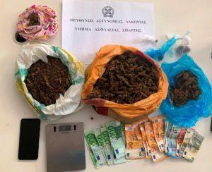 Συνελήφθη 42χρονος στην Λακωνία για όπλα & ναρκωτικά