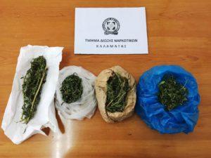 Σύλληψη για ναρκωτικά στην Καλαμάτα