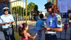 Ενημερωτικά φυλλάδια με συμβουλές οδικής ασφάλειας θα διανείμουν οι τροχονόμοι σε γονείς και μαθητές
