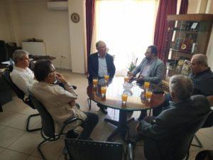 Συνάντηση Σ. Αραχωβίτη με τον Δήμαρχο Σπάρτης