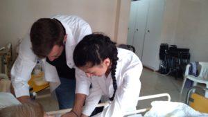 Εμβολιασμός από την 1 ΤΟΜΥ Σπάρτης στο Γηροκομείο Σπάρτης