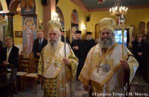 Με ιεροπρέπεια εορτάστηκε στην Μάνη η μνήμη του Α. Ιωάννου Χρυσσοστόμου