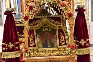 Δείτε σε απευθείας μετάδοση τον εορτασμό του Οσίου Νίκωνα
