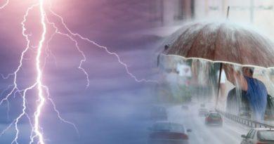 Καιρός : Τοπικές βροχές για την Τρίτη 2.3.2021
