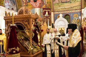 Με λαμπρότητα ο εσπερινός Ενθρονίσεως της Ι.Εικόνας Αγίου Νίκωνος