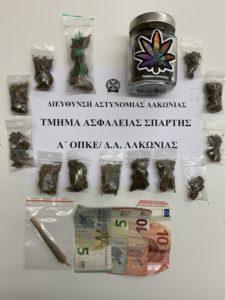 Σύλληψη 19χρονου στην Σπάρτη