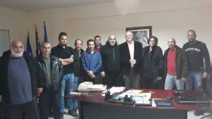 Συνάντηση Δήμαρχου Σπάρτης με αντιπροσωπεία για το θέμα των προσφύγων