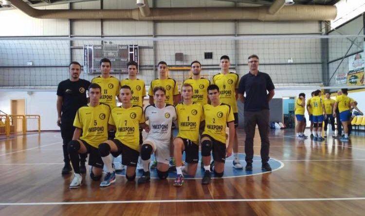 Πρωτάθλημα (Κ-20) εφήβων βόλεϊ Καλαμάτα 80 – Σπαρτιατικός ΓΣ 3-2
