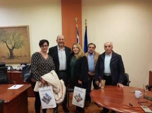 Συνάντηση εργαζομένων Νοσοκομείου Μολάων με την Διοίκηση του Επιμελητηρίου Λακωνίας