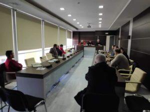 Έκτακτη σύσκεψη στην Π.Ε Λακωνίας για την αντιμετώπιση των έντονων καιρικών συνθηκών