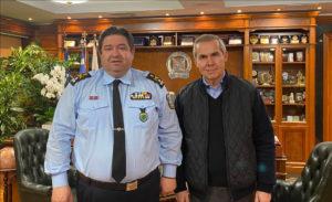 Συνάντηση Δαβάκη με τον Αρχηγό της ΕΛ.ΑΣ για θέματα ασφάλειας στην Λακωνία
