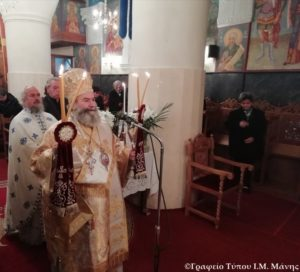 Αρχιερ. Θεία Λειτουργία στον Ι.Ν. Αγ. Νικολάου Γυθείου