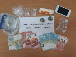 Λακωνία. Συνελήφθη ένα (1) άτομο για ναρκωτικά