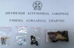 Συνελήφθη ένα άτομο για ναρκωτικά στη Λακωνία